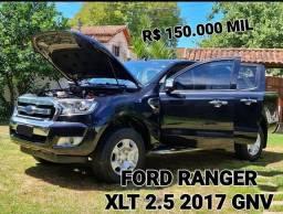 Título do anúncio: Ford ranger xlt 2.5 2017