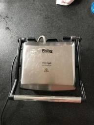 Título do anúncio: Grill GRANDE Philco - usa aberto como grelha