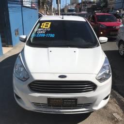 Ford Ka Sedan 1.0 2018 C/Gás Perfeito Para Uber