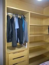 Armário madeira para closet