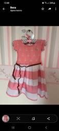 Vestido Amgerô 2 anos