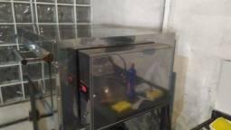 Título do anúncio: Forno inoxminas feg-18- forno elétrico grande instale com base de ferro