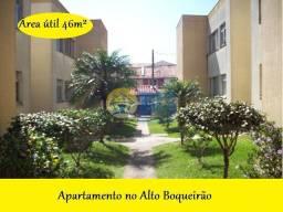 Apartamento com 2 dormitórios à venda, 50 m² por R$ 160.000 - Alto Boqueirão - Curitiba/PR