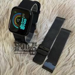 Smartwatch I5 - notificações, monitoramento exércio, batimentos cardíacos etc
