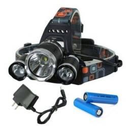 Título do anúncio: Lanterna de LED Recarregável Profissional