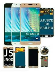 Frontal tela touch+display j5 j500