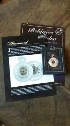 Relógio de bolso Heritage Collection modelo Diamond