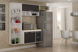 Título do anúncio: Armário de Cozinha Esmeralda Compacta - Entrega Grátis e imediata p/ Fortaleza