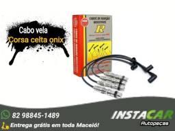 Título do anúncio: Jogo Cabos Ngk Corsa Celta Cobalt Agile Spin Gm Flex Scg73
