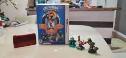 Título do anúncio: Nintendo 3DS Desbloqueado + Skylanders com 6 Bonecos e jogo físico