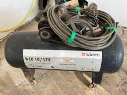 Título do anúncio: Compressor Wurth 175 Litros Monofasico