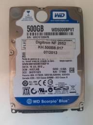 Título do anúncio: HD 500GB - só 120,00 - Valor Negociável