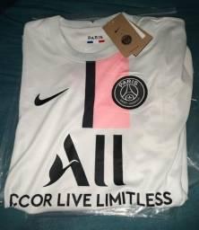 Título do anúncio: Camisa Branco do PSG 2021/22