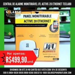 Título do anúncio: Central De Alarme Monitorável JFL Active-20 Ethernet c/ Teclado
