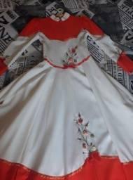 Vestido De Prenda / Veste Tradicionalista Gaúcha / Ctg