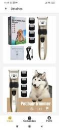 Título do anúncio: Kit Máquina Aparadora de Pelos Pet Grooming Hair Clipper