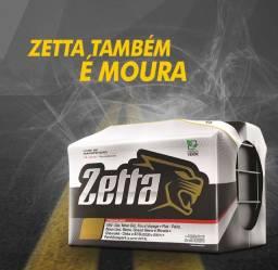 Título do anúncio: bateria zetta 60h  segunda linha moura