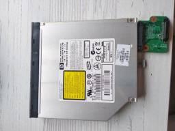 Gravador e leitor de Cd e DVD note HP Pavillion Dv 9000
