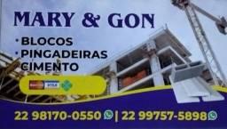 Título do anúncio: Blocos e pingadeiras bairro Botafogo