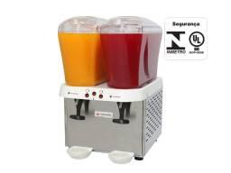 Título do anúncio: Refresqueira Inox 2 Reservatórios de 16 litros Venâncio - Wanderson