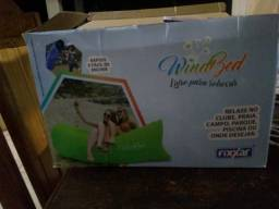 Windbed Cama De Vento Você Pode Relaxar Em Qualquer Lugar na caixa