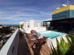 Título do anúncio: Cobertura com 2 dormitórios à venda, 108 m² por R$ 750.000,00 - Cabo Branco - João Pessoa/