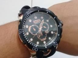 Relógio Masculino De Luxo Invicta Calendário Promoção top