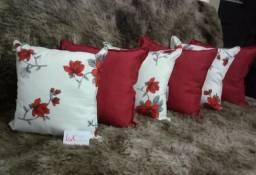 Lindos kits de almofadas vendo elas com cheio também vendo só as capa