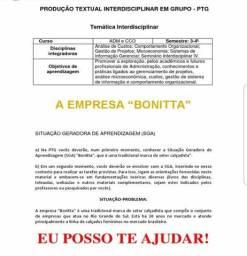 """Portfólio tema"""" Empresa Bonitta"""" R$ 30 reais, envio imediato"""