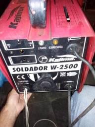 Máquina de solda kajima 250 R$ 250,00