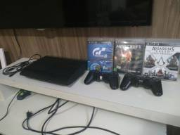 Play Station 3 (PS3) +6 jogos