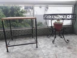 Mesas antiga palha natural