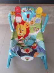 Cadeira balanço e vibração fisher price