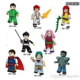 Minifiguras/Bonecos Yuyu Hakusho Formato Lego