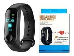 Pulseira Inteligente Smartband M3 Monitor Cardíaco Relógi