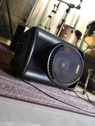 Caixa amplificada ativa Shansonic 200w