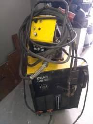 Máquina de solda mig lab 320 amp. cabeçote externo
