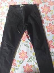 Calça preta usada uma vez