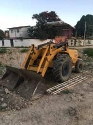 Trator Máquina pá carregadeira Valmet 65