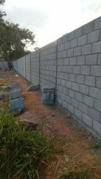 Muro em Fino Acabamento ( Bloco de Concreto )