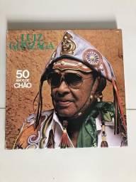 Box Luiz Gonzaga com 5 discos vinil