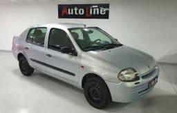 Clio Sedan 1.0 2002 Repasse Abaixo de Fipe $ 8.990,00 Financia 100% - 2002