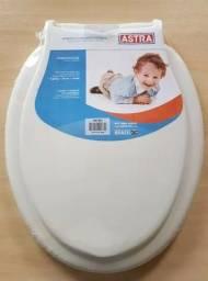 Assento Sanitário Infantil Astra Branco Com Tampa