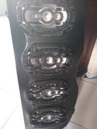 Tampa para onix com 4 falantes 6x9 Bravox