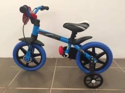 Bicicleta infantil menino aro 12