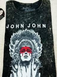 Kit 6 Camiseta Malha lavada Aromatizada - Revenda 4fd033c1bb88a