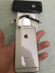 IPhone 6 64GB, impecável!!! Acessórios + Fone Bluetooth