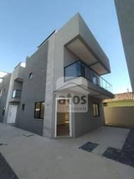 Sobrado com 3 dormitórios à venda, 111 m² por R$ 480.000 - Xaxim - Curitiba/PR