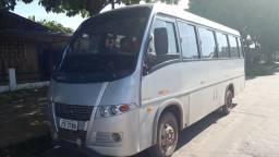 Vendo ônibus volare v8 cinza 2006