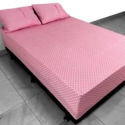 Jogo de lençol e colchas para cama casal ,king ,queen super king